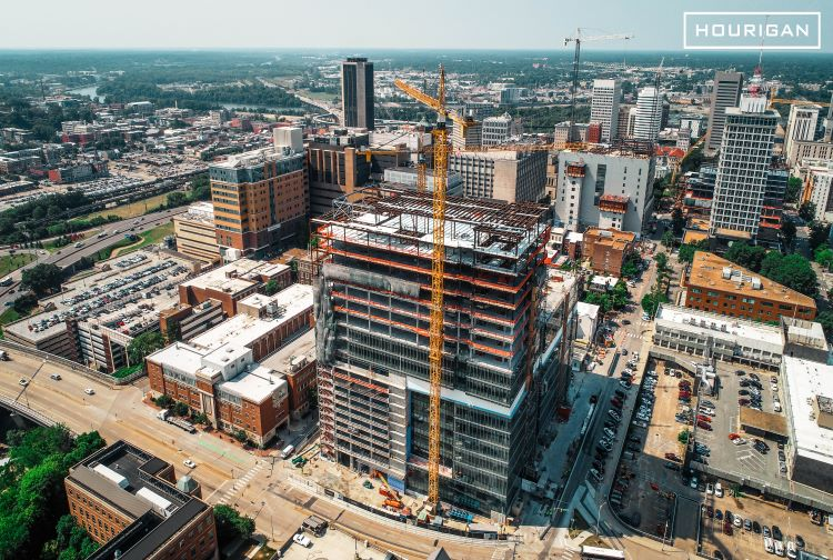 VCU Health Celebrates Topping Out for Adult Outpatient Pavilion