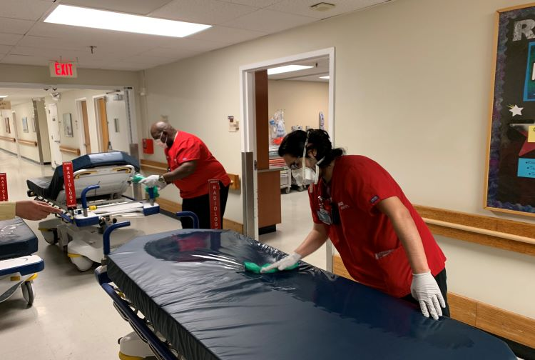 Cleaning and disinfecting our facilities:  We go the extra mile to ensure your safety