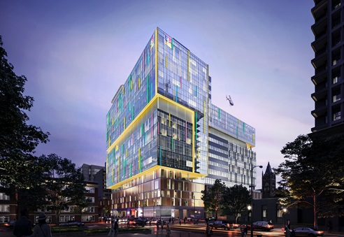 Children's Hospital of Richmond at VCU Rendering