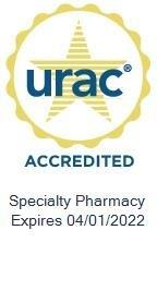 URAC Accredited in Specialty Pharmacy