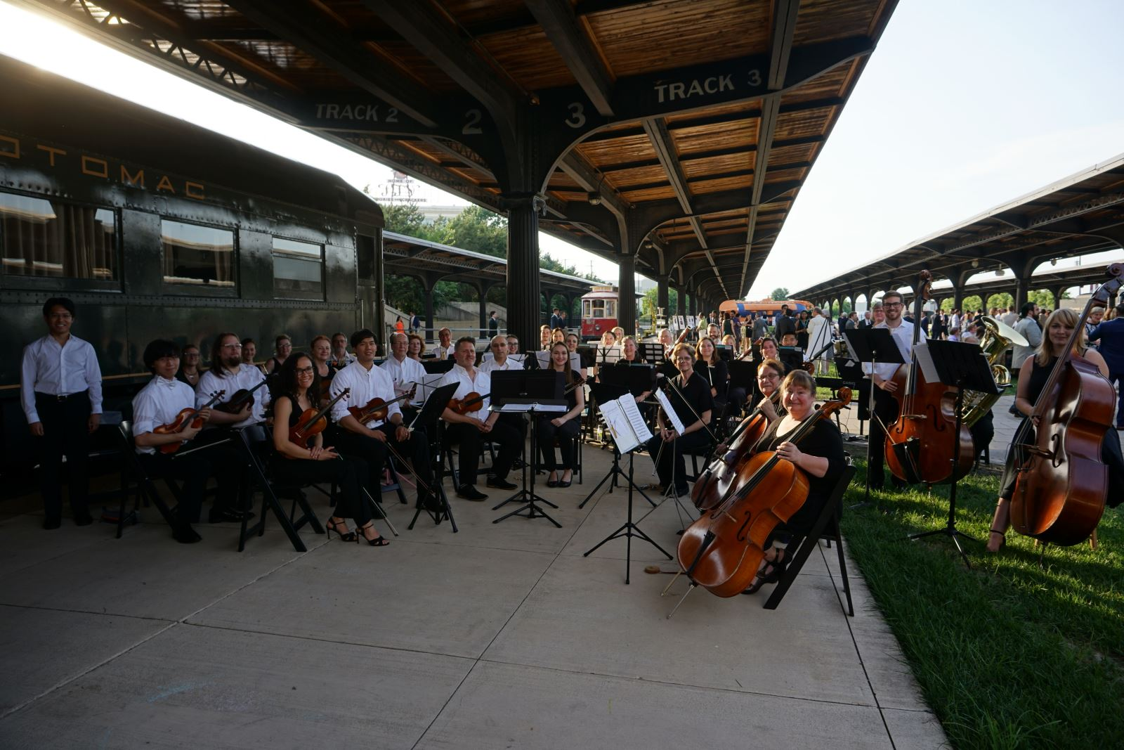 Members of VCU Health Orchestra play