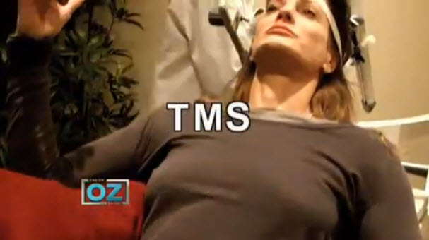 Click to view Dr. Oz video on TMS