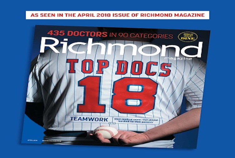 116 providers named Top Docs of 2018 by Richmond Magazine