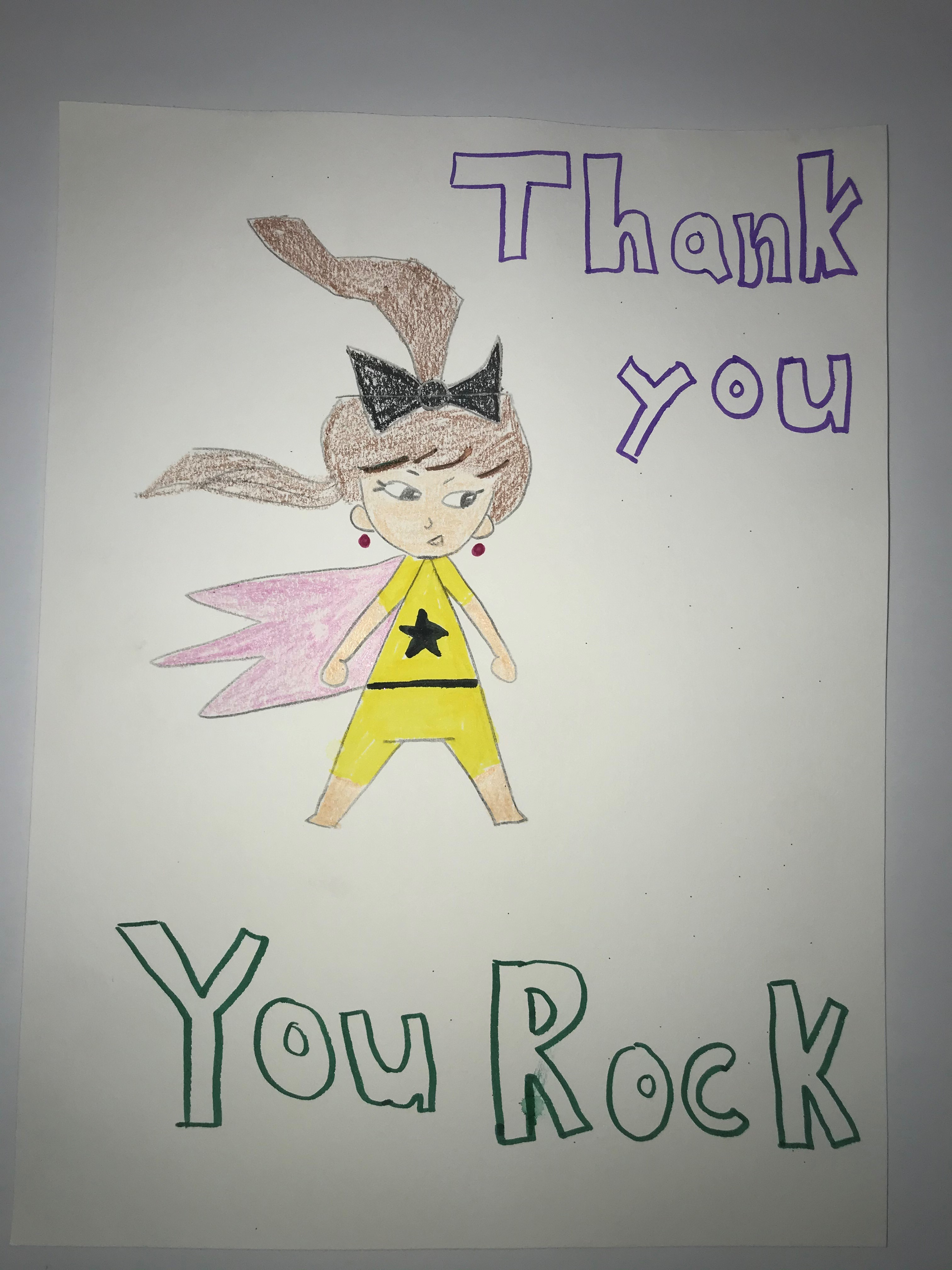 Thank you. You rock!