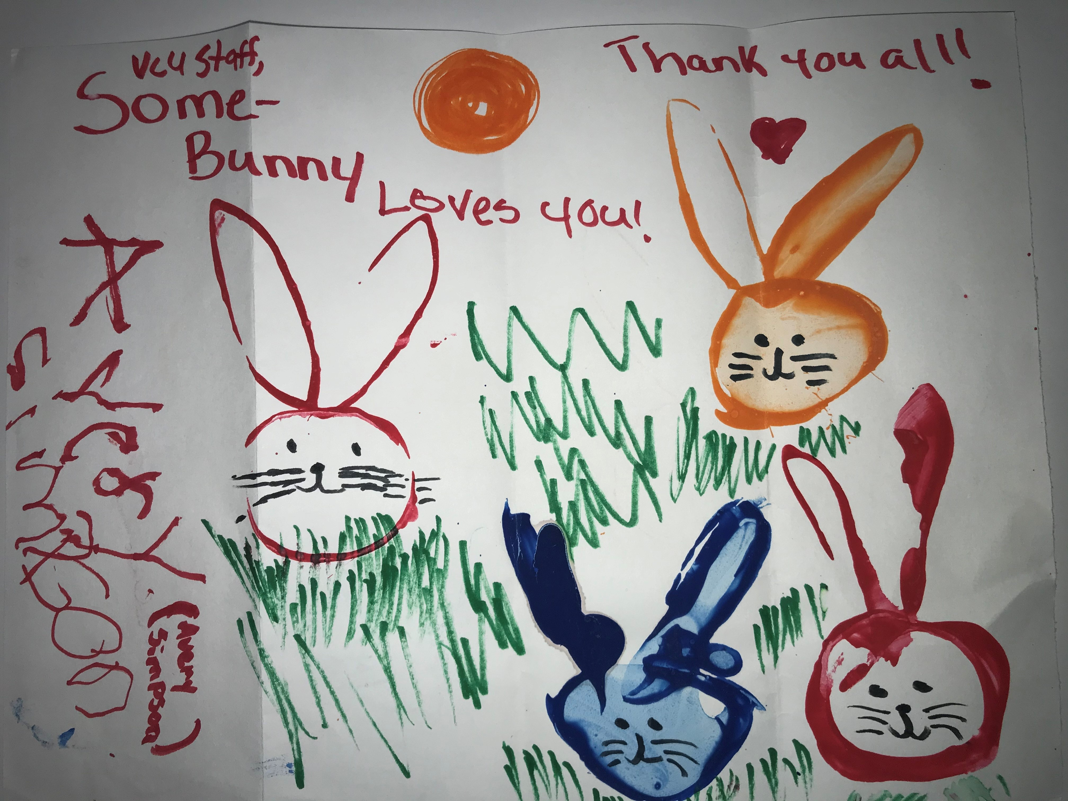 Some-bunny loves you. Thank you all!