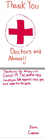Thank you doctors and nurses!