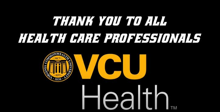 VCU Rams to VCU Health: Thank You
